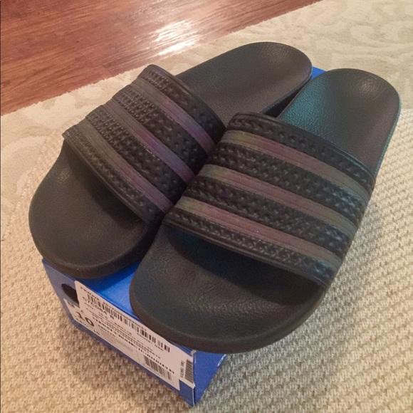 afcc224bbf8f adidas Other - Adidas Adilette triple black slides